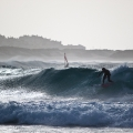 Surfers at Baleal